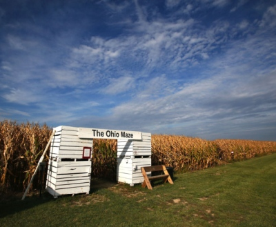 The Ohio Maze entrance